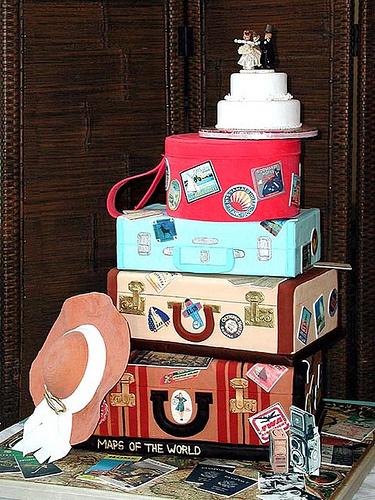 Cake Luggage 2